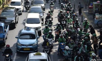Jakarta traffic jams